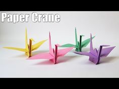 How to make a Paper crane - Step by Step Easy Origami tutorial for beginners. Today we will show everything about Origami Flapping Bird making. Origami Rose, Origami Paper Size, Origami Cards, Origami Paper Crane, Origami Design, Origami Flapping Bird, Origami Crane Tutorial, Origami Christmas Star, Origami Owl Parties