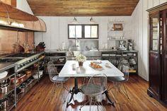 Mixed Materials Kitchen