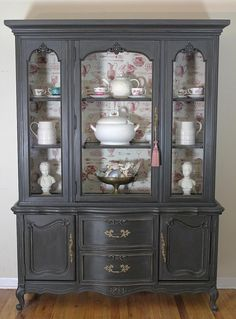 French China Cabinet is hold for Lucie