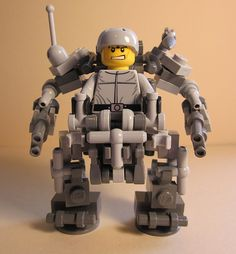 With the new Exo skeleton coming out, this might be a reasonably sized companion