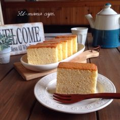 Sweets Recipes, Easy Desserts, Baking Recipes, Cake Recipes, Japanese Sweets, Cafe Food, Food Design, Baked Goods, Sweet Tooth