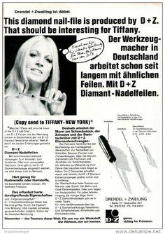 Original-Werbung/ Anzeige 1969 - DIAMANT NADELFEILEN / TIFFANY /  DRENDEL &…