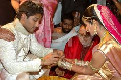 Allu Arjun Wedding/Marriage/Sangeet Ceremony photos, pics