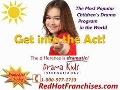 Drama Kids International Low Cost Franchise and Recession Resistant Industry - Child Care Development Center Home Based Business Opportunities - http://www.redhotfranchises.com/franchise-opportunity/Drama_Kids_International  Become a member of an exciting organization for a surprisingly low investment, you can begin building equity and a real fut...