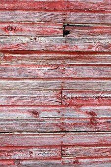Barn Wood Texture, Red Barn Wood