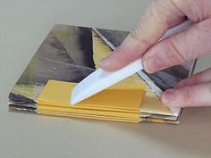 Making Handmade Books: Instructions: A Book Structure from Australia