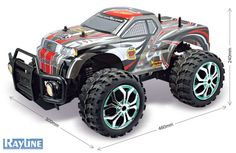 RC Rayline R300 Off-Road Monster Truck