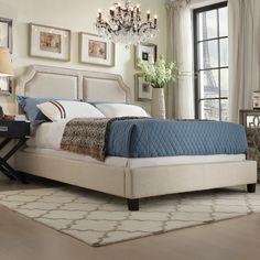 Thirsk King Upholstered Panel Bed