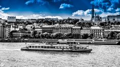 blue black and white Beautiful Pictures, Black And White, Building, Blue, Travel, Viajes, Black White, Buildings, Trips