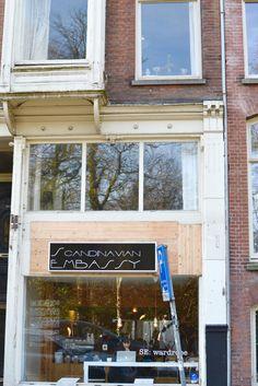 Amsterdam, De Pijp: Scandinavian Embassy