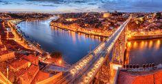 vista sobre o porto ao inicio da noite - Pesquisa do Google