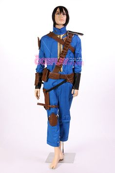 Fallout: New Vegas -- The Courier Cosplay Costume Version 01