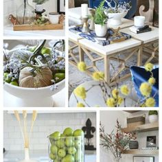 Use our easy ideas for 5 minute fall styling tips and tricks. Incorporate velvet pumpkins mixed with faux stems to quickly and layer and style your home for fall. Faux Pumpkins, Small Pumpkins, Velvet Pumpkins, Canvas Wall Collage, Mantle Styling, Dried Eucalyptus, Tall Glass Vases, Wood Bowls, Do It Yourself Projects