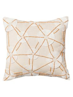 Beaded on Cotton Pillow from Loloi Pillows