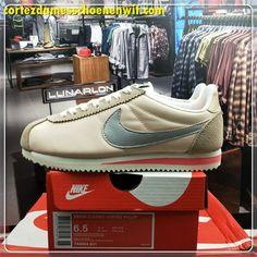 sports shoes eb11c 6e4f4 Nike Classic Cortez Nylon Damesschoenen 749864-801 Roze Zilver