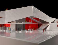 Folding Architecture – Plassen Cultural Center in Norway / 3XN Architects - eVolo | Architecture Magazine
