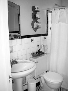 A tub-shower combo didn't suit the couple's long-term needs, and there wasn't any storage in this 7x5 bath. It needed a to-the-studs overhaul./