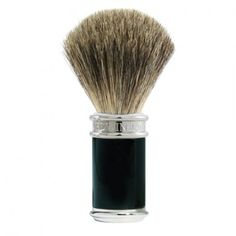 Buy Edwin Jagger Black & Chrome Shaving Brush (Pure Badger) from The English Shaving Company. Extensive range of Pure Badger Shaving Brushes from premium brands. Shop now! Badger Shaving Brush, Shaving Oil, Shaving Cream, Edwin Jagger, Safety Razor, After Shave, Chrome Plating, Pure Products