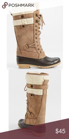 Tall Duck Boots BNIB 7.5  NWT Shoes Winter & Rain Boots