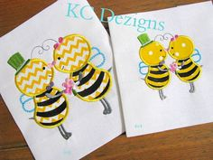 Meant To Bee 03 Machine Applique Embroidery Design  by KCDezigns