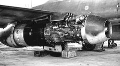 """""""We'd see a similar sort of engine mounting approach on 737s decades later"""" KB ME 262 W.Nr. 113332"""