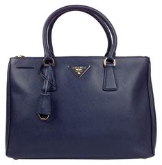 Prada Saffiano Medium Leather Navy Satchel. Save 55% on the Prada Saffiano Medium Leather Navy Satchel! This satchel is a top 10 member favorite on Tradesy. See how much you can save