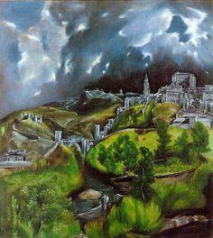 Vista de Toledo El Greco-1604-1614