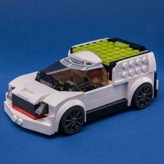 LEGO MOC 76900 Cargo Wagon by Keep On Bricking | Rebrickable - Build with LEGO Lego Moc, Brick, Cars, Autos, Car, Bricks, Automobile, Trucks