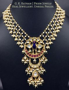 48 Ideas For Indian Bridal Jewelry Polki Uncut Diamond Pendant Jewelry, Jewelry Sets, Beaded Jewelry, Silver Jewelry, Enamel Jewelry, Gold Jewellery, Antique Jewelry, Silver Ring, Silver Earrings