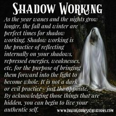 Light workers doing shadow work. Makes perfect sense! Wicca Witchcraft, Magick, Pagan, Eclectic Witch, Kitchen Witch, Book Of Shadows, Spiritual Awakening, Spiritual Enlightenment, Spelling