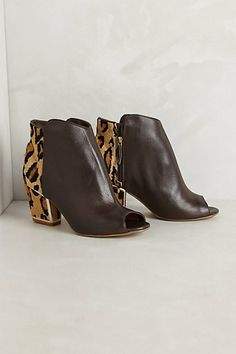 Clary Booties #anthropologie