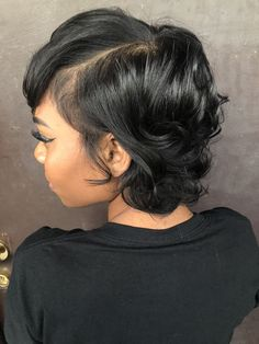 If I decide to grow my out again - Modern Short Sassy Hair, Short Hair Cuts, Pressed Natural Hair, Curly Hair Styles, Natural Hair Styles, Hair Game, My Hairstyle, Hair Today, Hair Dos