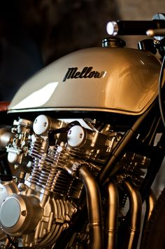Mellow Motorcycles Cafe Racer Scrambler Bobber Classic Racer handcrafted in Southern Germany. We build one of a kind custom motorcycles. Established 2016.