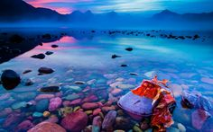 Autumn Sunrise On Lake McDonald Glacier National Park, Montana ...