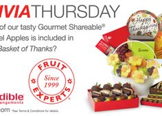 Edible Arrangements ~ Win Free Products, $2500 And More