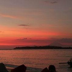 Que todas as tardes terminem assim... (Gili Air, Indonésia)