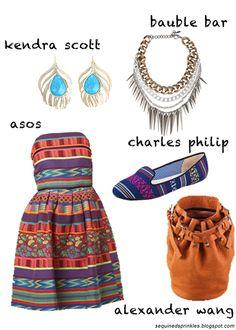 """@laurhilary's """"navajo hippie"""" look!"""