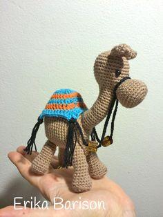 Amigurumi camel