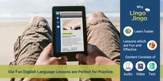 Lingo Jingo the perfect tool to practice learning #English!  100's of lessons to choose from start today - http://lingojingo.com
