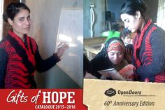 Teaching marginalised Christian women in the Middle East to read, can be life-changing: not only does being literate bring them new dignity, but it also provides them with opportunities to gain employment and social acceptance.  Give the gift of literacy to a persecuted Christian woman this Christmas: R 40 enables one woman to attend literacy training for one month.  #gift #persecution Donate Now, 60th Anniversary, Persecution, Christian Women, Life Changing, Acceptance, Middle East, Gain, Christianity