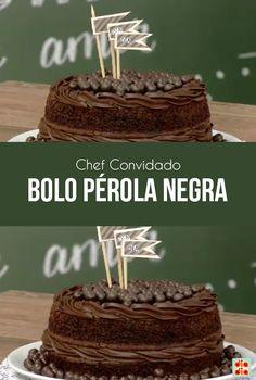 A cozinheira Camila Dutra trouxe a receita de um lindo bolo de pérola negra. Veja como é fácil de preparar!
