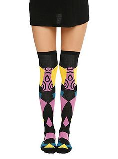 The Nightmare Before Christmas Sally Over-The-Knee Socks,