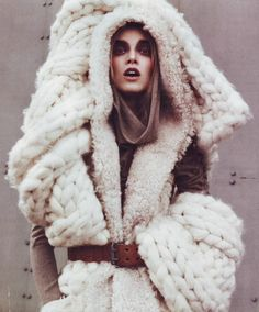 53245847e0e Chunky wool knit everything Buzznet