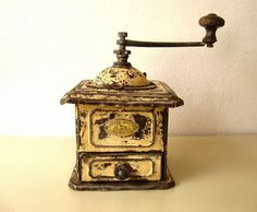 Antique Coffee Grinder Peugeot  Very rare by Lunartics on Etsy, €80.00