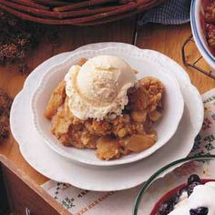 The BEST Apple Crisp Recipe we've tried-and we love apple crisp, so that's saying something!