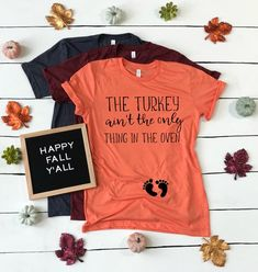 Maternity Clothes Discover Thanksgiving Pregnancy Shirt funny fall baby announcement shirt Thanksgiving Pregnancy Reveal for Parents Grandparents Family Husband Baby Announcement Grandparents, Thanksgiving Pregnancy Announcement, October Pregnancy Announcement, Halloween Pregnancy Announcement, Maternity Thanksgiving Shirt, Halloween Maternity Shirt, Baby Announcement Shirt, Christmas Baby Announcement, Fall Maternity Outfits
