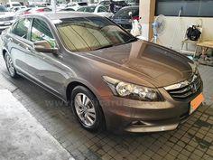 ขายรถเก๋ง HONDA ACCORD ฮอนด้า แอคคอร์ด รถปี2011 สีน้ำตาล