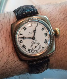 The First Rolex Oyster Watch From 1926 Feature Articles