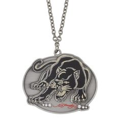 Ed Hardy Jumping Panther CZ Necklace, Women's