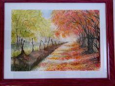 Acquerello - colori d'autunno